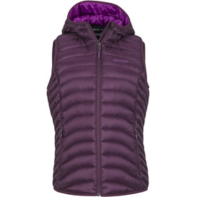 Marmot Bronco Hooded Vest Women, dark purple